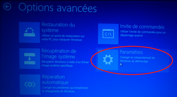 Installer un pilote non signé sous Windows 8