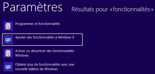 guide tutoriel installer et activer Telnet Windows 8
