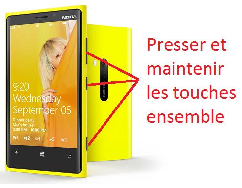 Lumia 920 hard reset