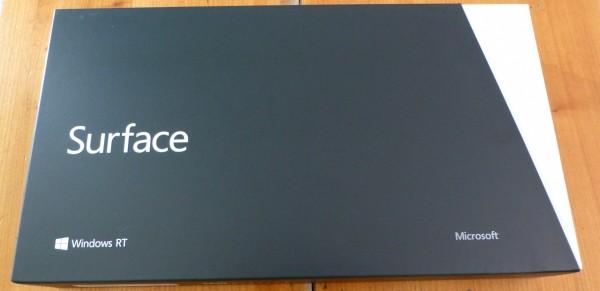 Test Microsoft Surface 1ère partie