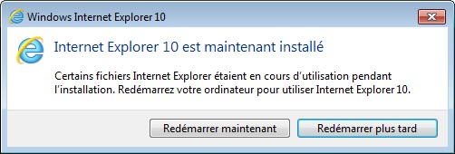 telecharger nouveau Internet Explorer 10 sur Windows 7 x86 x64 32bits 64bits