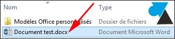 W8F afficher extension fichier Win8 guide tutoriel