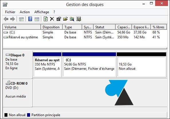 partition disque (15)