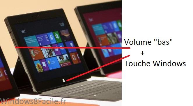 windows 8 tablet how to take screenshot