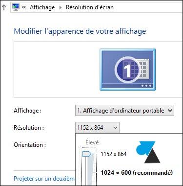 Windows8 resolution netbook 1152x864