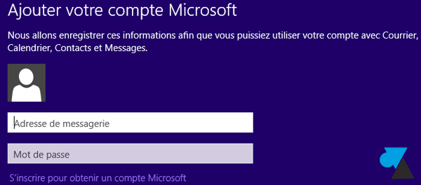logiciel Courrier Windows 8 configuration tutoriel