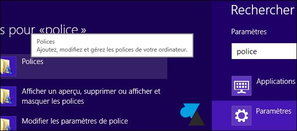 Windows8 installer nouvelle police caractere TTF OTF