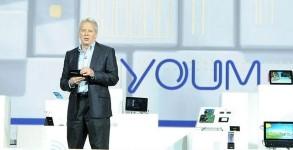 prototype ecran souple Samsung Youm CES 2013 video