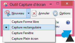 Windows 8 faire une capture d 39 cran screenshot for Ouvrir fenetre plein ecran windows 7