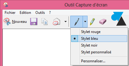 Windows 8 faire une capture d 39 cran screenshot for Capture 2cran