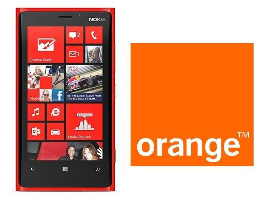Lumia 920 orange