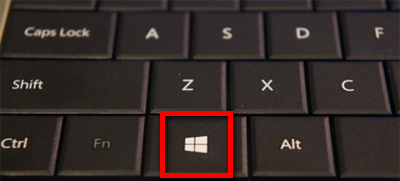 touche Windows clavier azerty raccourci keyboard