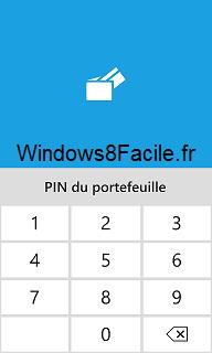 Windows Phone Portefeuille Code Pin demandé