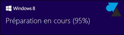 installation Windows 8 sur Windows 7