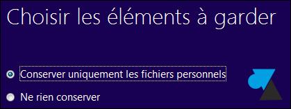 mise a niveau Window 8 sur Windows 7