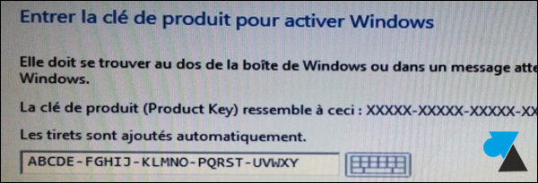 trouver numero cle de licence Windows 8 crack