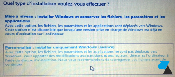 Windows 8 installer formater comment faire novice