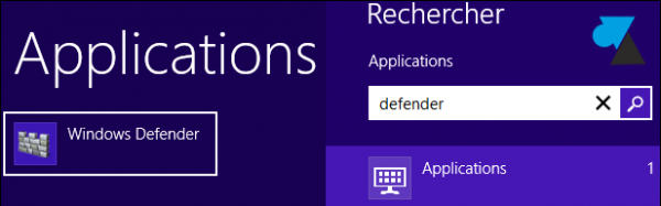 Windows Defender Windows8