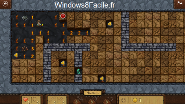Microsoft Démineur Minesweeper aventure