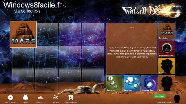 Pinball FX2 accueil