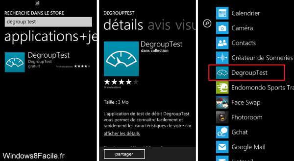 Degroup Test Windows Store