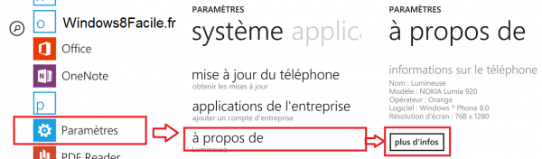 Windows Phone A propos