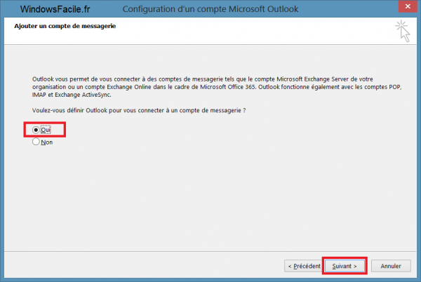 Outlook 2013 tutoriel