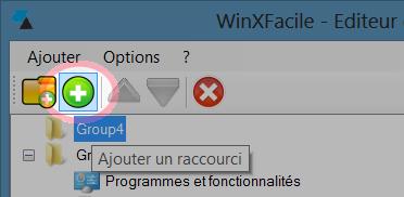 WinXFacile Ajouter programme