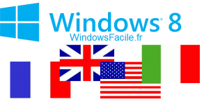 Windows 8 changer langue clavier systeme