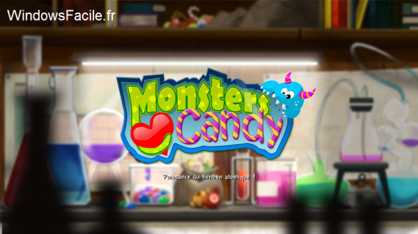 Windows 8 Monsters love candy