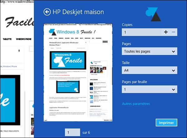 Windows 8 barre des charmes icone Peripheriques