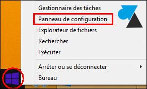 tutoriel Windows 8 8.1 supprimer icone FRA EN barre des taches