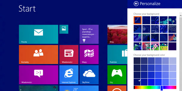Premier aperçu de Windows Blue (Windows 8.1)