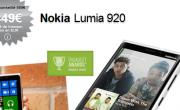 Bon plan : Nokia Lumia 920 à 449€