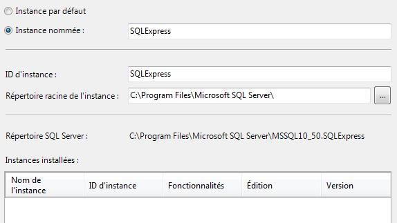 SQL Server 2008 R2 instance