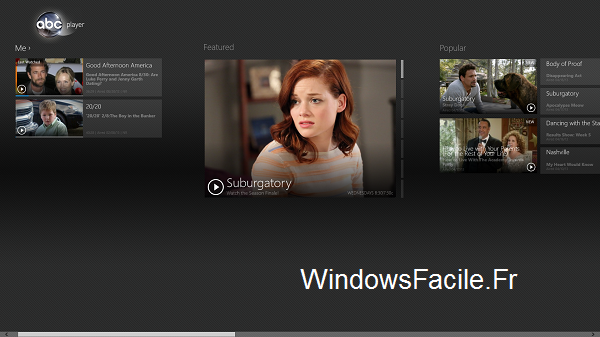 ABC application Windows 8
