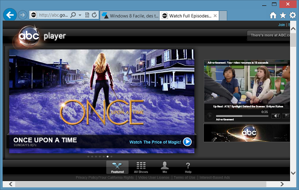 ABC telerattrapage once upon a time