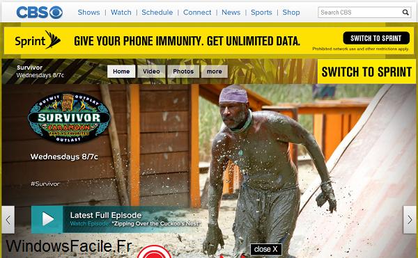 CBS Survivor website