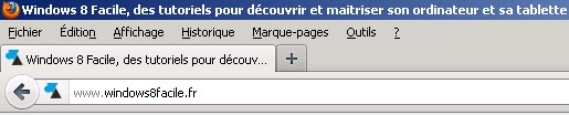 ancienne interface look Firefox 12