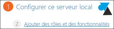 Windows Server 2012 ajouter role fonctionnalite