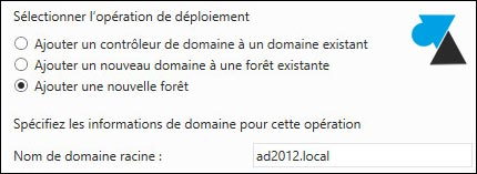 tutoriel Windows Server 2012 R2 creer foret
