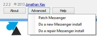 Messenger Reviver options