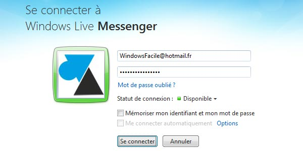 Windows Live Messenger MSN Windows 8