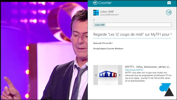 application replay TV TF1 direct HD