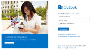 Accueil Outlook.com