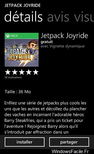Jetpack Joyride WP Details