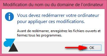 personnaliser windows changer nom ordinateur