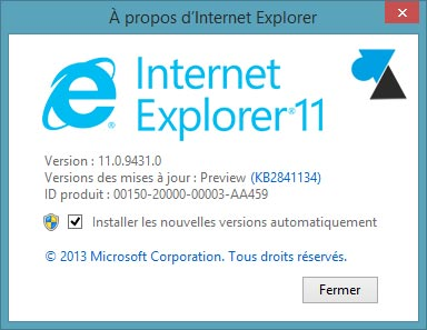 Internet Explorer 11 IE11
