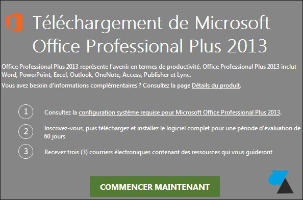 telecharger gratuit Office 2013 serial Office 2014