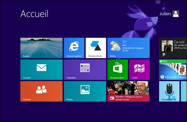 Windows 8.1 Preview ecran accueil bureau